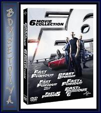 FAST & FURIOUS - 1 2 3 4 5 & 6 COLLECTION **BRAND NEW DVD BOXSET **