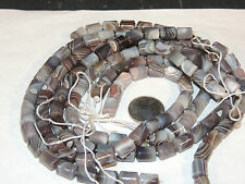 Botswana Agate 12x9mm Tubes Gemstone Beads (2471)