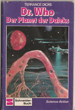 V Rare: GERMAN Doctor Who and the Planet of the Daleks, Schneider-Buch edition.