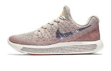 Nike WOMEN'S Lunarepic Low Flyknit 2 Pale Grey/Metallic Silver SIZE 12 BRAND NEW