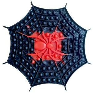 Jumbo Spider Web Push it Bubble Pop Fidget Sensory Toy ADHD Stress Reliever Toy