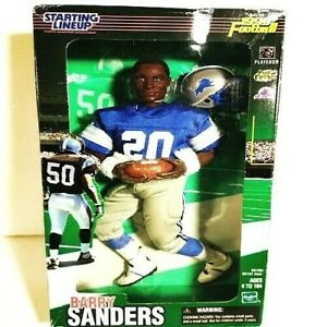 BARRY SANDERS Starting Lineup 1999 NFL Football Action Figure (NICE!!!)