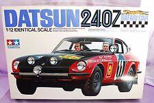 RARE TAMIYA 1/12 DATSUN 240Z SAFARI CAR Model Kit #12008 NEW