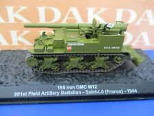 Die cast 1/72 Modellino Carro Armato Tank 155 mm GMC M12 Saint-Lo France 1944