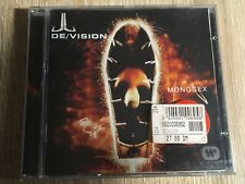DE/ VISION - MONOSEX - We Might Be One For A Day CD 1988 guter Zustand