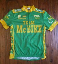 VTG Sugoi Kona Mountain Bikes Cycling Race Jersey TEAM McBIKE Sz Small Rock Shox