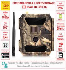 FOTOTRAPPOLA PROFESSIONALE 3G MMS EMAIL 12MP HD - APP - ASSISTENZA DEDICATA