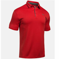 Under Armour Tech Polo - Red/Graphite - 3XL