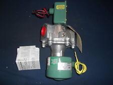 ASCO 8043A048 240/60 220/50 VOLTS MX160 GAS SOLENOID VALVE 1' NPT NEW NIB