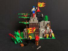Lego 6076 Dark Dragon's Den Castle Dragon Masters Ritter Ritterburg complete