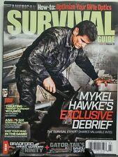 American Survival Guide March 2017 Mykel Hawke Rifle Optics FREE SHIPPING sb