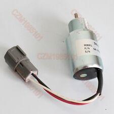 Fuel Shutoff Stop Solenoid SA-3725-12 Fit Mitsubishi Engine L3E2-63ESA S4L-2