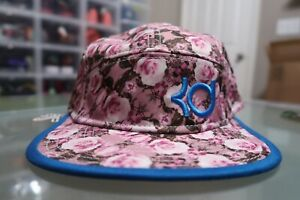 RARE Nike KD Kevin Durant Snapback Aunt Pearl Hat Cap Pink Floral Cancer