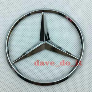 Mercedes-Benz Badge Logo Emblem Rear Boot Class C B E S GLK ML 90mm