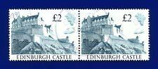 1988 SG1412 £2 Edinburgh Castle Spec UK3 Fine Pair Stockport CDS 3 DEC 1991 azgg