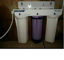 iSpring Under Sink Tankless Drinking Water Filtration System - Includes Filters