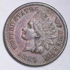 1885 Indian Head Small Cent CHOICE UNC FREE SHIPPING E123 WNC