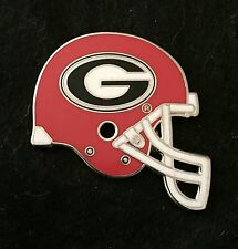 UNIVERSITY OF GEORGIA FOOTBALL HELMET PIN - NCAA FREE SHIPPING BIN USA ONLY