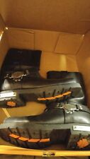 womens harley davidson leather boots size 8 1/2