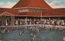 Postcard Bathers Douglas Park Chicago IL