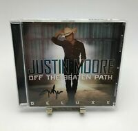 JUSTIN MOORE OFF THE BEATEN PATH Rare CD (Complete in CD Case) VGC / Like-New