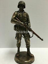 Honor And Courage - US Army Bronze finish Figurine Statue Sculpture Hero