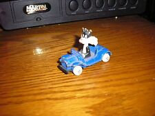 Vintage Diecast Ertl Looney Tunes SYLVESTER the CAT Hot Rod Roadster Blue