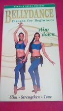 Bellydance Fitness for Beginners - Slim Down 2001 VHS exotic dancing body toning