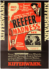 Kifferwahn Reefer Madness 1936/73 Orig.-Filmplakat Filmverlag