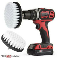 5 Inches Electric Drill Brush Attachment For Cleaning Carpet Leather Upholstery