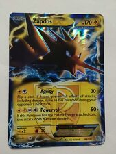 Pokemon: Zapdos-EX 48/135 Ultra Rare B&W Plasma Storm Light Play