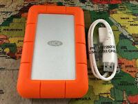 LaCie Rugged Mini 2TB USB 3.0 / USB 2.0 Portable Hard Drive LAC9000298  31 Days