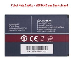 Akku Cubot Note S - 4150 mAh + Versand aus Deutschland