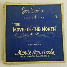 Atomic Bomb Joe Bonica 8mm Movie of the Month Hollywood California B/W