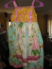 VIntage Loves Me Not Tranquility  The Knot Dress Size 8