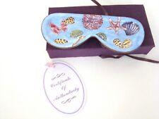 Empress Arts Enamel Eyeglasses Tray Seashells