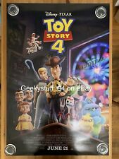 Toy Story 4 DS Theatrical Movie Poster 27x40