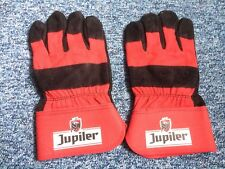 PAIRE DE GANTS DE ChANTIER'JARDINAGE EMBALLE BIERE BEER BELGE JUPILER@