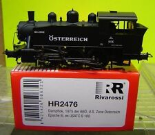 "Rivarossi HO HR2476 Dampflok 1975 der BBÖ US Zone ex USATC S100 Ep.III ""Neu(AND)"