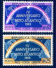 ITALIA 1953 - PATTO ATLANTICO  SERIE NUOVA  **