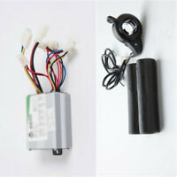 350W 24 Volt Speed Controller Box+humb Throttle For EATV EKart Electric Scooter