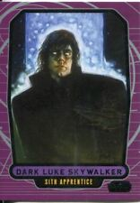 Star Wars Galactic Files Series 1 Base Card #218 Dark Luke Skywalker