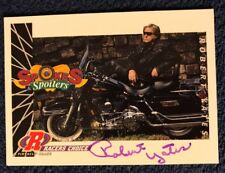 Robert Yates Signed Nascar Owner Trading Card Autographed