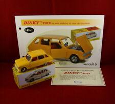 DINKY Spielzeug / ATLAS Ref. 1416 e RENAULT 6 Gelb