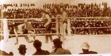 James J Corbett Bob Fitzsimmons Knockout Boxing 7x4 Inch Reprint Photo