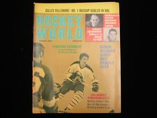 March 1971 Hockey World Magazine - Gilbert Perreault Cover
