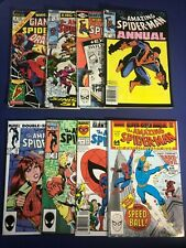 Amazing Spider-Man G-Size#1 Special #6 Ann#15 17 19-22 *Lot of 8* (1969-1988)