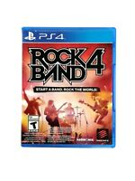 Rock Band 4 (Sony PlayStation 4, 2015) CIB, Mint Condition, Game Only, *TESTED*