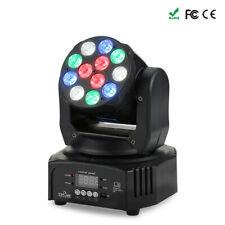 40W DJ Lights 12 LED Moving Head Lights Stage Lights Par Lighting Strobe RGBW