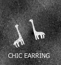 Lovely Adorable Tiny *Giraffe* 925 Sterling Silver Earring Stud